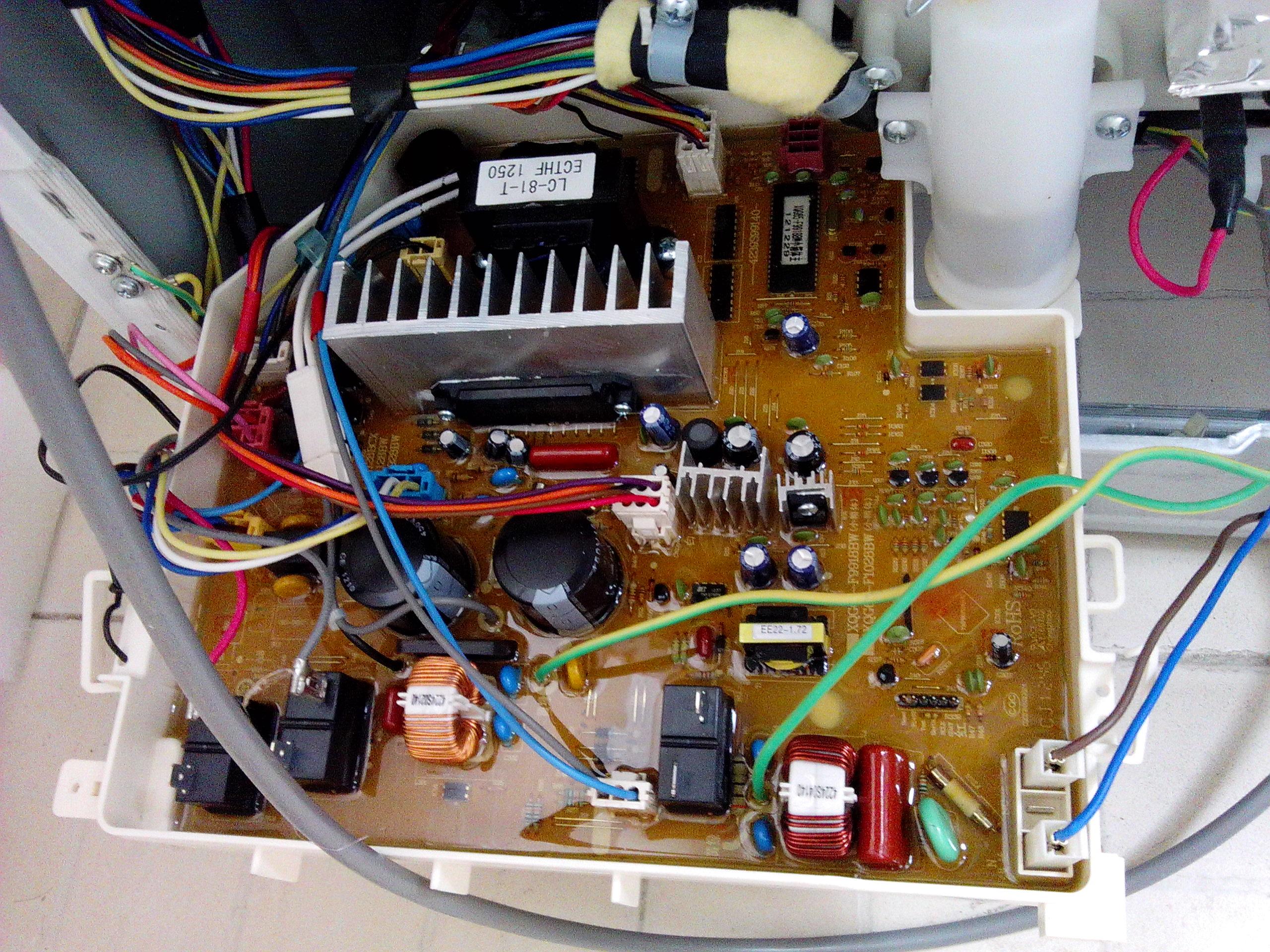 三洋洗衣机才买三个月 电脑板就坏了