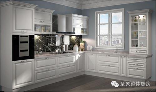 圣象厨房古典吸塑产品【柏林雅奢】——厨房新风度开启新绅活