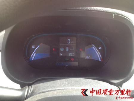 江淮电动车IEV5刹车系统质量不合格