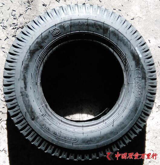武汉奥莱斯轮胎召回部分2014年生产的K速级轻型载重斜交轮胎