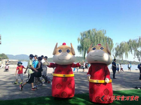 """""""益兽""""首次亮相颐和园旅游文创产品展"""