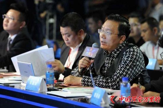 """车建新为第三届""""创青春""""中国青年创新创业大赛决赛担任评委"""