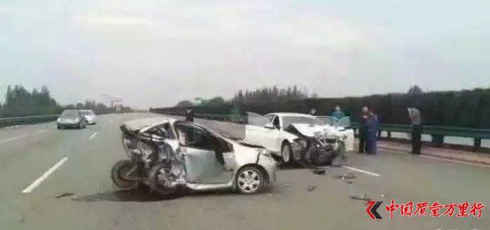 """""""车尾都被撞没了""""比亚迪汽车安全性能遭质疑"""