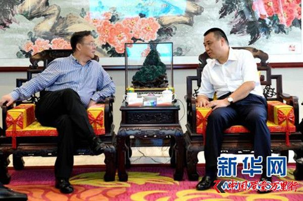 辽宁省开原市委书记张谨到访康美药业