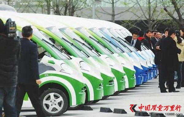 上海十月新能源汽车推广4567辆 总计逼近9万辆