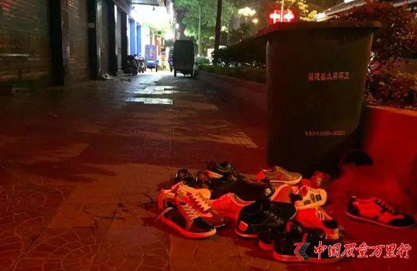"""我在""""假鞋之都""""莆田花4个晚上买了一双最NB的NB鞋"""