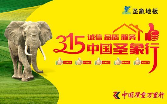 315诚信品质服务中国圣象行