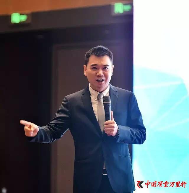 康美时代总经理朱庆华寄语中国质量万里行315活动