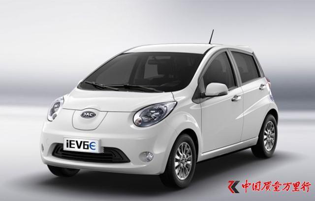 江淮iEV三款车型4月7日上市 续航有提升