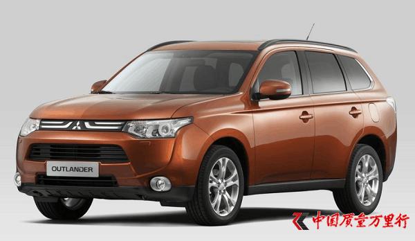 三菱汽车销售(中国)有限公司召回部分进口欧蓝德系列汽车