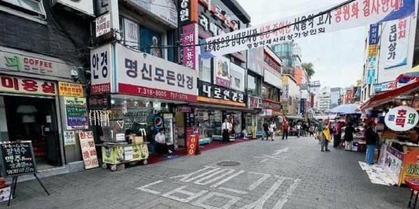 """五一期间,""""萨德""""问题下,韩国旅游业惨淡,几乎没人!"""
