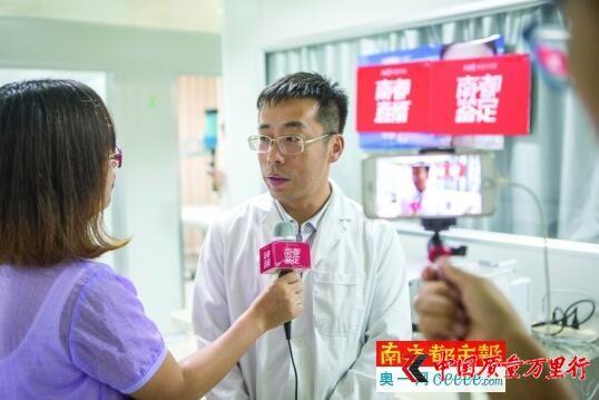 广东检验检疫技术中心食品化妆品实验室研究员程树军。