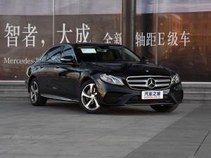 北京奔驰 奔驰E级 2017款 E 300 L 运动时尚型