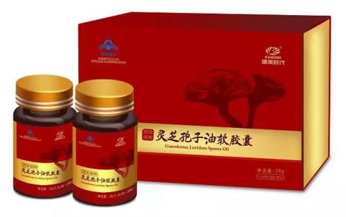 康美:灵芝孢子油软胶囊上市