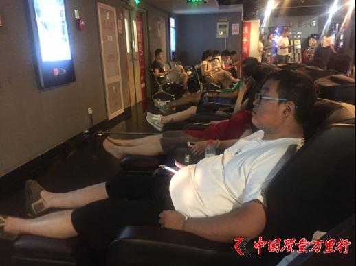 共享按摩椅:电影开场前的新消费方式