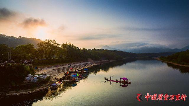 中国40个最美景点之楠溪江,醉美的田园山水画
