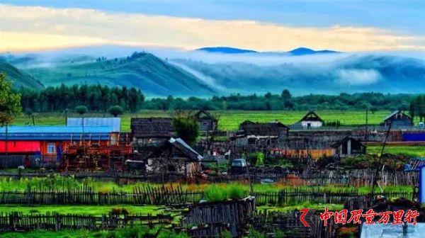 到中国唯一的俄罗斯民族乡,领略美如画的异域田园风光