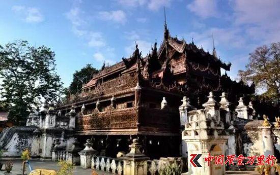 缅甸百年古寺历经战火仍精妙如初,到底有什么秘密?