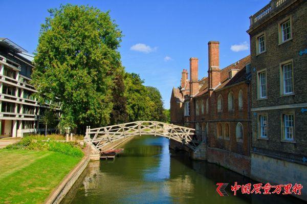 英国剑桥目前接待的550万游客中有90%来自中国