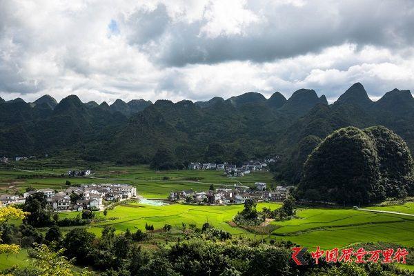 喀斯特地貌上的万座绿色中国金字塔见过吗