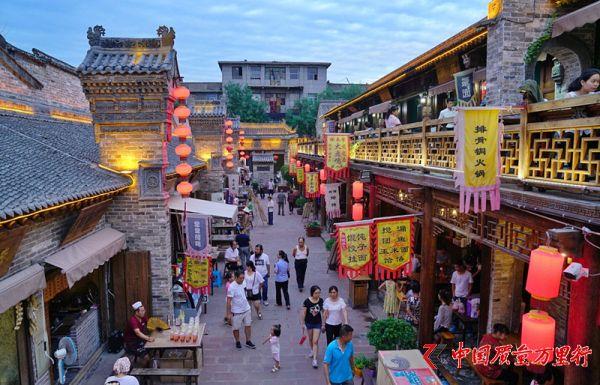 走进韩城古城美食街,据说吃遍所有美食需要7个月