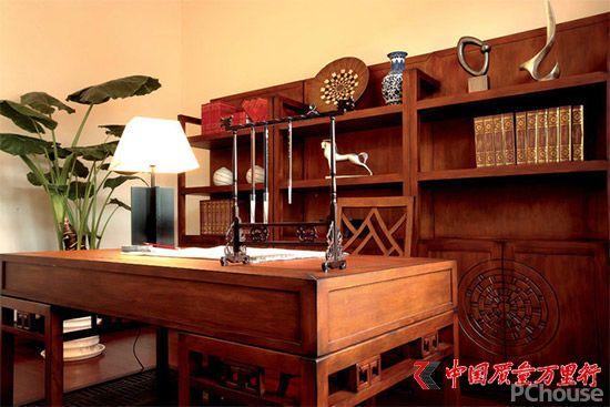 中式书房家装大揭秘 达康书记也离不开它