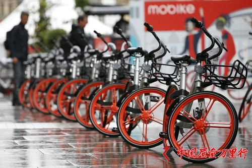 中国共享单车席卷全球:碾压美国同行龙头老大