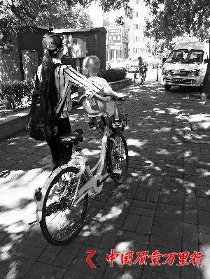 共享单车儿童座椅网上叫卖 律师:出事需用户负责