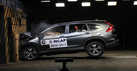 一批新车安全碰撞评价结果:有自主品牌成绩不够理想