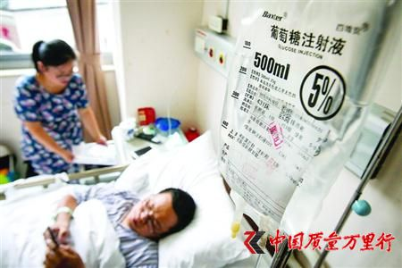 事故发生后,陈华兵做了脾脏摘除手术,至今仍在住院。 /晨报记者 张佳琪