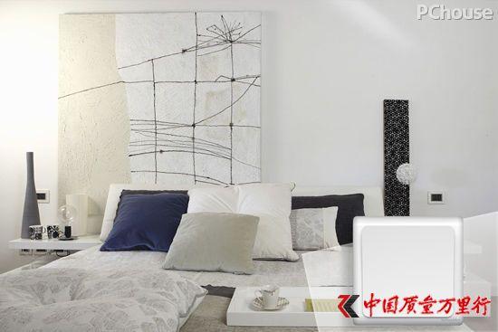 清雅白与现代家装风格搭配场景