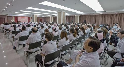 权健肿瘤医院开展系列培训提升医疗服务水平