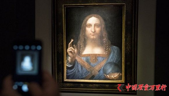 达芬奇画创下拍卖界新纪录 真假难辨却卖了4.5亿美元