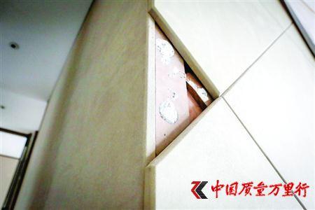 绿地黄浦滨江豪宅甲醛超标 所用板材被禁用室内装修