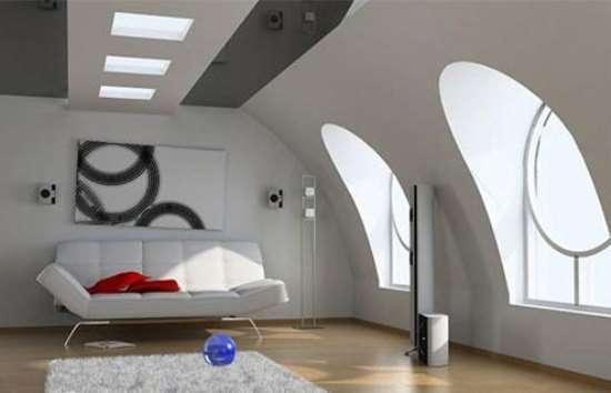阁楼装修效果图 感受趣味阁楼的魅力
