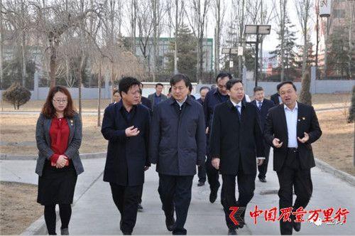 中国农业银行青海省分行行长任雷波一行莅临金诃藏药视察