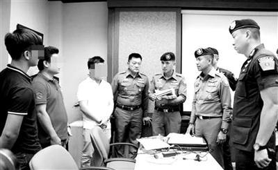 泰国警方逮捕涉事黑导游