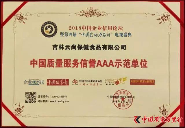 吉林云尚及总裁刘阳先生喜获殊荣