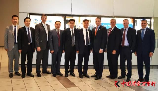 中国重汽集团董事长王伯芝一行考察访问美国艾里逊变速箱公司