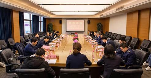 国家部委联合督导组到三八妇乐集团检查指导