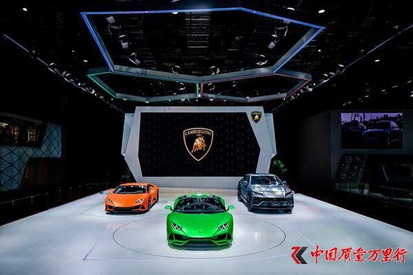 兰博基尼携全系车型登陆2019上海车展
