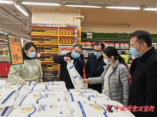 湖北襄阳市场监管局坚守市场监管阵地  服务疫情防控大局