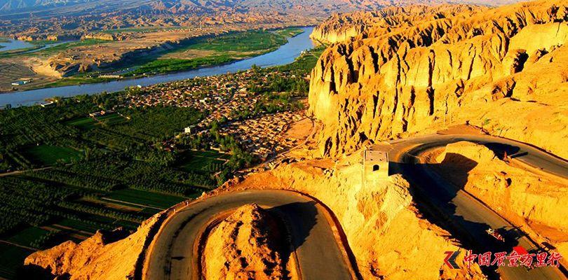 甘肃黄河石林国家地质公园航拍