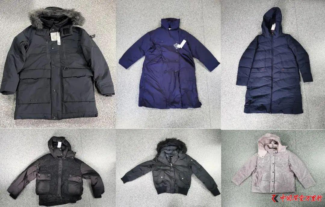 上海抽检50批次羽绒服6批次品 警惕鸭毛含量、含毛量虚标