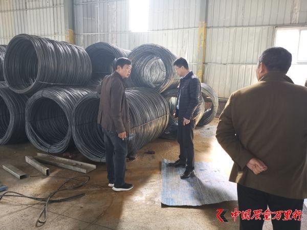 湖南永州市市场监督管理局开展钢筋产品质量专项检查行动