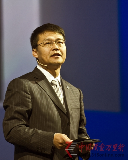中国第一汽车集团副总经理秦焕明先生致辞
