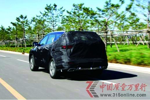 北京现代力推全新豪华SUV 代号DMc年底上市
