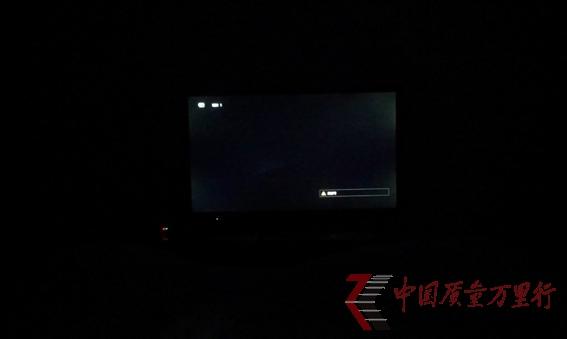 京东商城购买索尼42寸液晶电视漏光严重