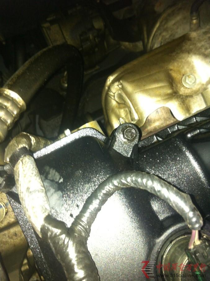 福克斯2012款新车刚买一个月就漏油