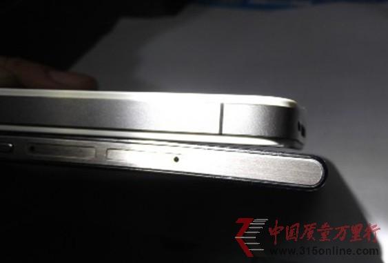 华为P6超薄手机莫名弯曲 外观问题致难退货